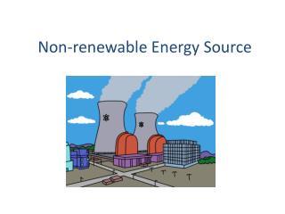 Non-renewable Energy Source