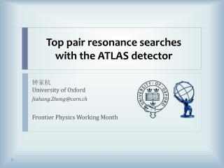 Top pair resonance searches with the  ATLAS detector