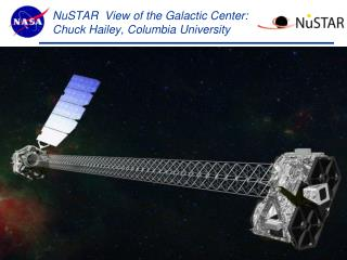 NuSTAR   View of the Galactic Center: Chuck Hailey, Columbia University