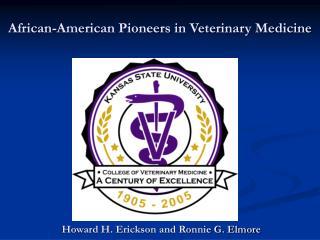 african-american pioneers in veterinary medicine