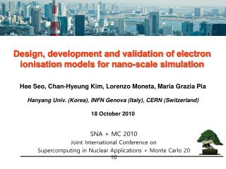 Design, development and validation of electron  ionisation  models for  nano -scale simulation