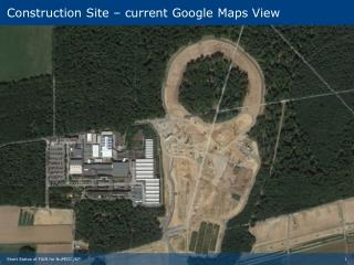 Construction Site –  current  Google  Maps  View