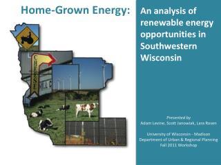 Home-Grown Energy: