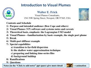 Introduction to Visual Plumes