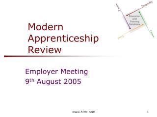 modern apprenticeship  review