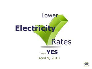 Purpose of Municipal Electric Aggregation