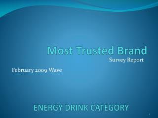ENERGY DRINK CATEGORY