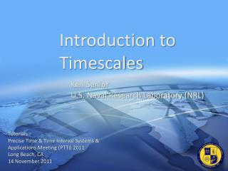 Introduction to Timescales