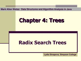 chapter 4: trees