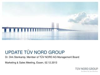 Update TÜV NORD GROUP