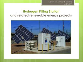 Hydrogen Filling Station and related renewable energy projects