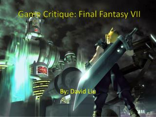 Game Critique: Final Fantasy VII