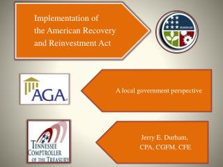 Implementation of ARRA in Tennessee