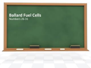 Ballard Fuel Cells