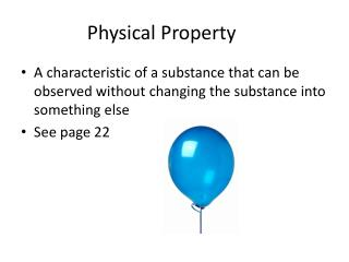 Physical Property