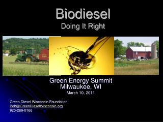 Biodiesel Doing It Right