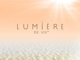 Put life  and  light  into your skin with Lumière de  Vie