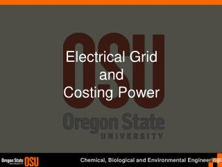 Electrical Grid and Costing Power