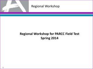Regional Workshop