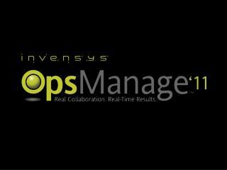 Control Room Management & Wonderware System Platform PBWW323
