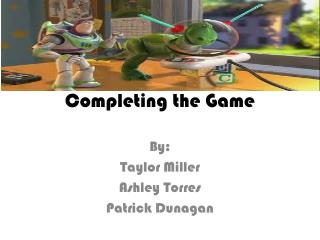 Completing the Game