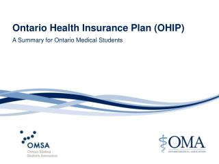 Ontario Health Insurance Plan (OHIP)