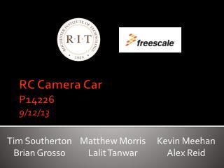 RC Camera Car P14226 9/12/13