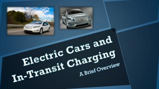 Electric Cars and  In-Transit Charging