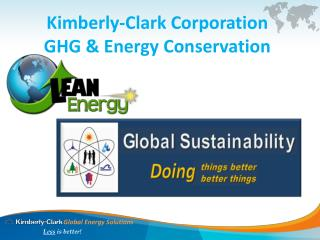 Kimberly-Clark Corporation GHG & Energy Conservation