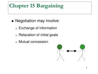 Chapter 15 Bargaining