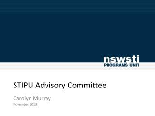 STIPU Advisory Committee