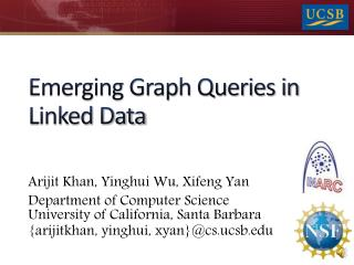 Emerging Graph Queries in Linked Data
