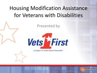 Housing Modification Assistance for Veterans with Disabilities