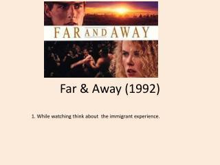Far & Away (1992)