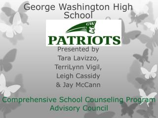 Comprehensive School Counseling Program Advisory Council