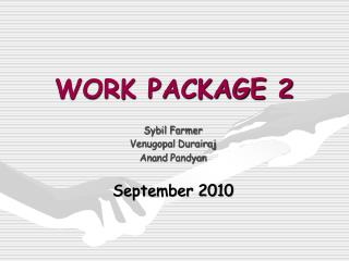 WORK PACKAGE 2
