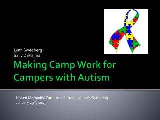 Making Camp Work for Campers with Autism