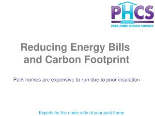 Reducing Energy Bills  and Carbon Footprint