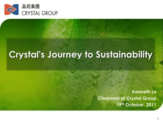 sustainability   the bottom line