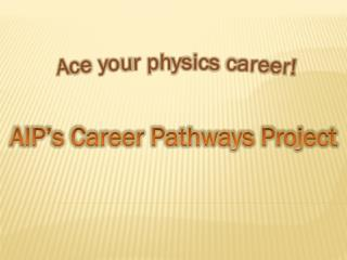 Ace your physics career!