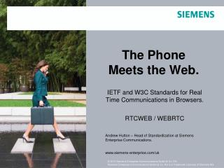The Phone Meets the Web.
