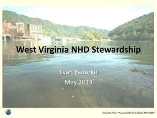 West Virginia NHD Stewardship