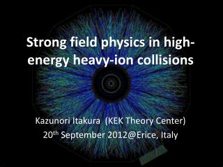Strong field  physic s in high-energy heavy-ion collisions