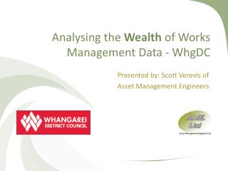 Analysing  the  Wealth  of Works Management Data -  WhgDC