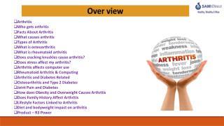 Arthritis Who gets arthritis Facts  About Arthritis  What causes arthritis  Types of Arthritis What  is osteoarthritis
