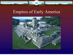 empires of early america
