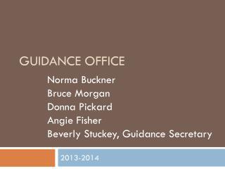 Guidance Office
