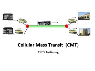 Cellular Mass Transit  (CMT) CMT4Austin.org