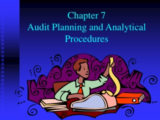 planning and analytical procedures