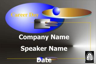 company name speaker name date